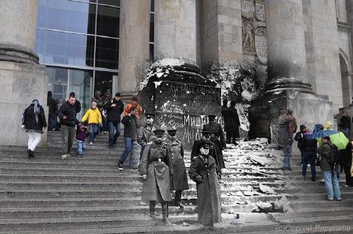Riksdagstrappan i Berlin
